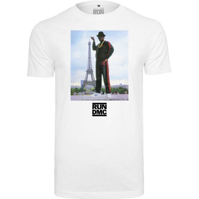 Mister Tee Run Dmc Paris T-shirt - White