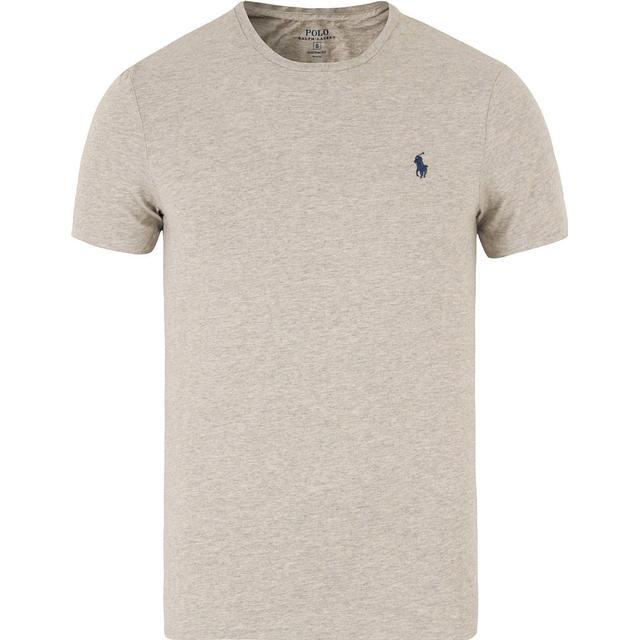 Polo Ralph Lauren Custom Slim Fit Cotton T-shirt - New Grey Heather