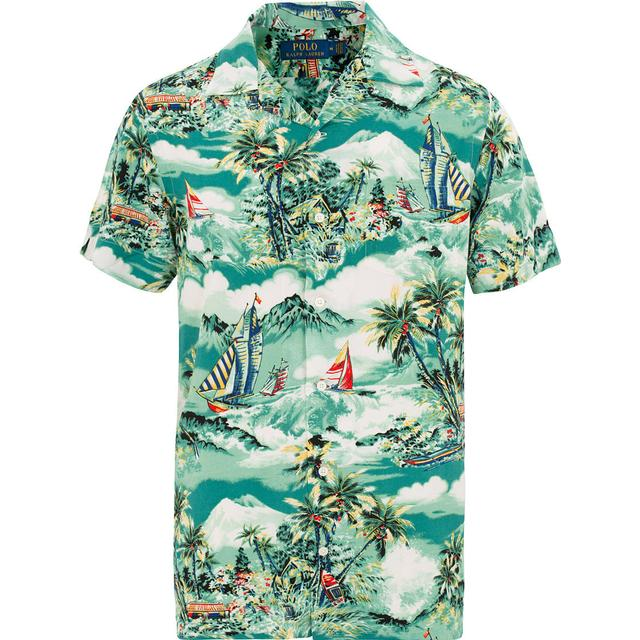 Polo Ralph Lauren Classic Fit Tropical Shirt - Stormy Tropical