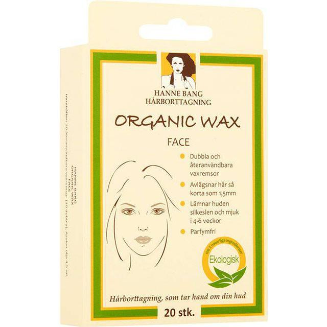 Hanne Bang Organic Wax Face 20-pack