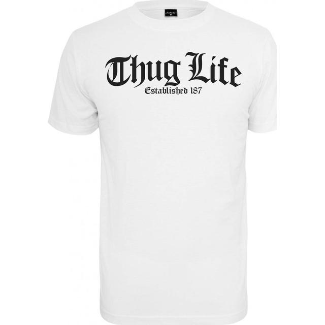 Mister Tee Thug Life Old English T-shirt - White