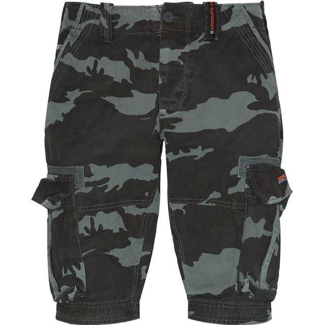Superdry Core Cargo Lite Shorts - Atlantic Camo