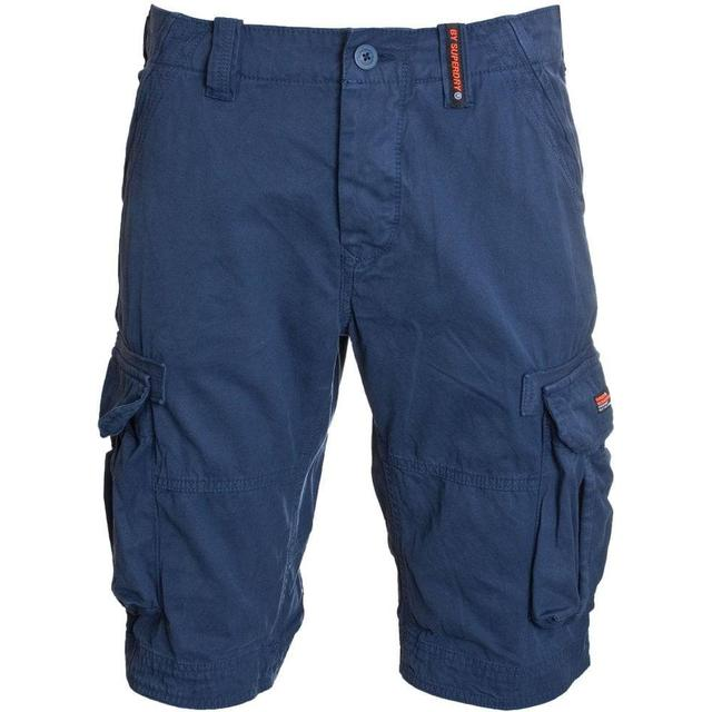 Superdry Core Cargo Lite Shorts - Battleship Navy