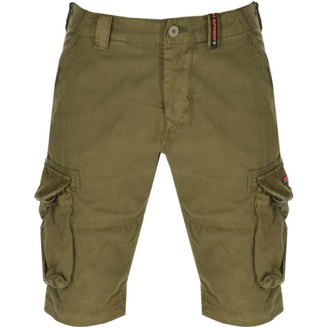 Superdry Core Cargo Lite Shorts - Burnt Sage