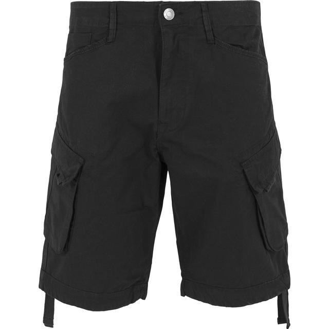 Urban Classics Cargo Twill Shorts - Black