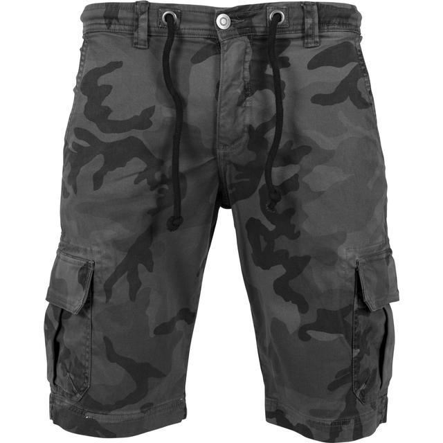 Urban Classics Camo Cargo Shorts - Grey Camo