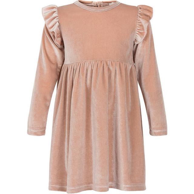 Creamie Velvet Dress - Rose Smoke (840128-5506)