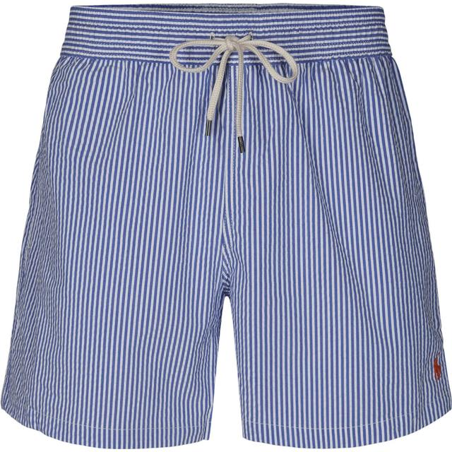 Polo Ralph Lauren 14 cm Seersucker Swim Trunk - Cruise Royal Seersucker