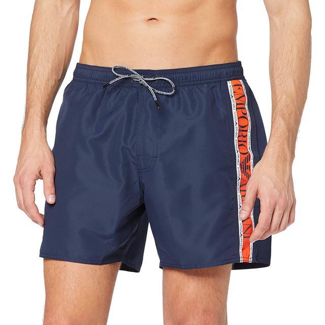 Emporio Armani Beachwear Boxers - Navy Blue