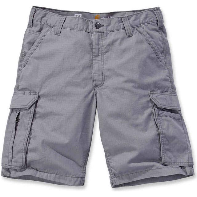 Carhartt Force Tappen Cargo Shorts - Asphalt