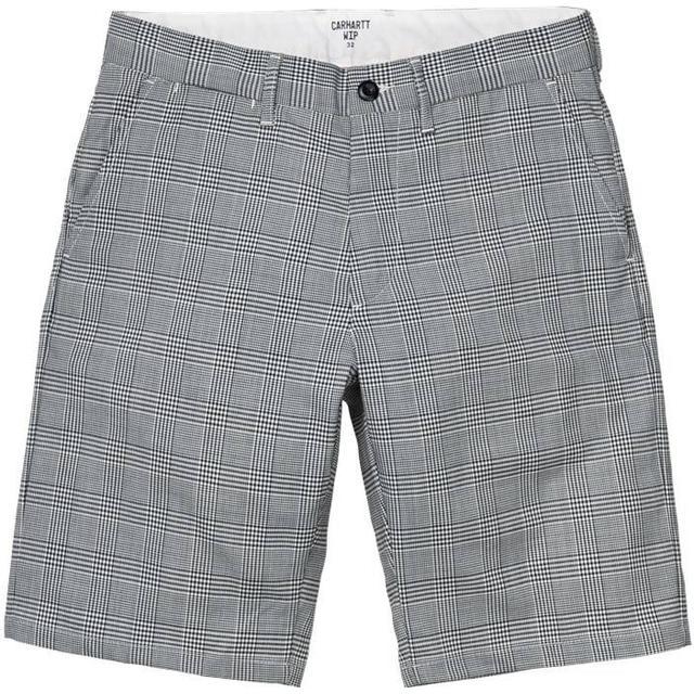 Carhartt Johnson Shorts - Glencheck Black