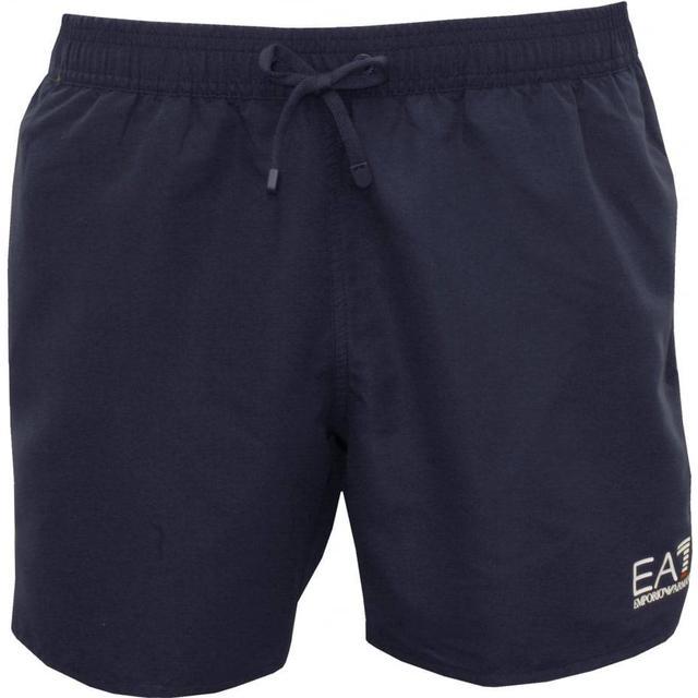 Emporio Armani EA7 Sea World Core Beachwear Boxers - Blue