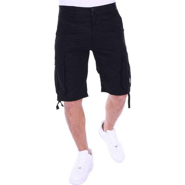 Pelle Pelle Basic Cargo Short - Black