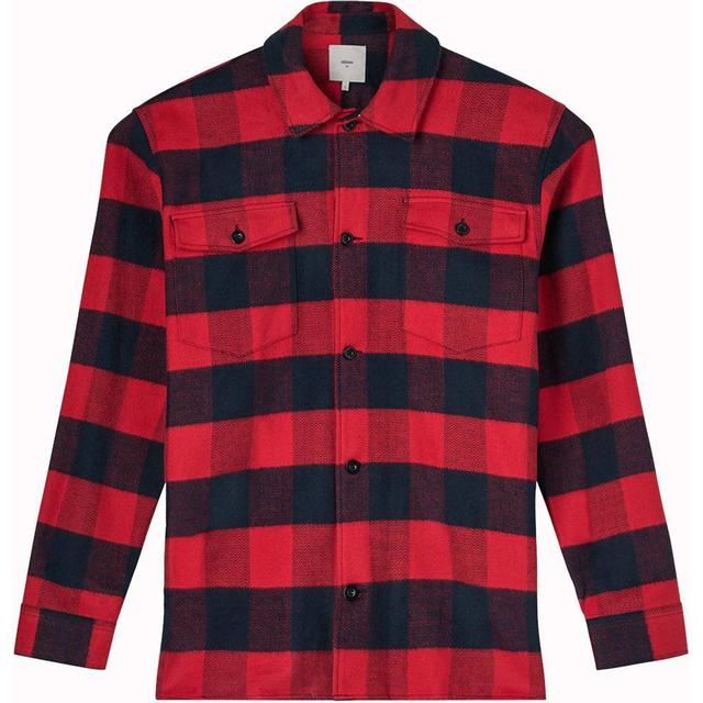 Minimum Fjell Long Sleeved Shirt - Chinese Red