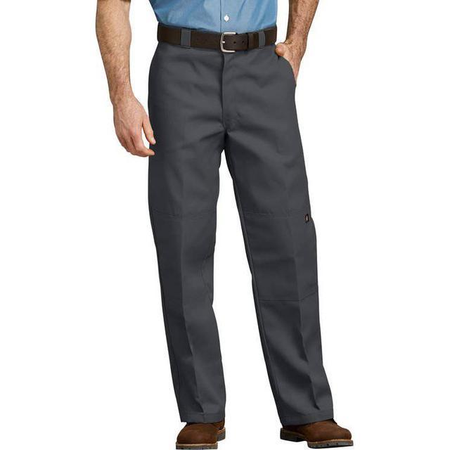 Dickies Loose Fit Double Knee Work Pants - Charcoal Gray