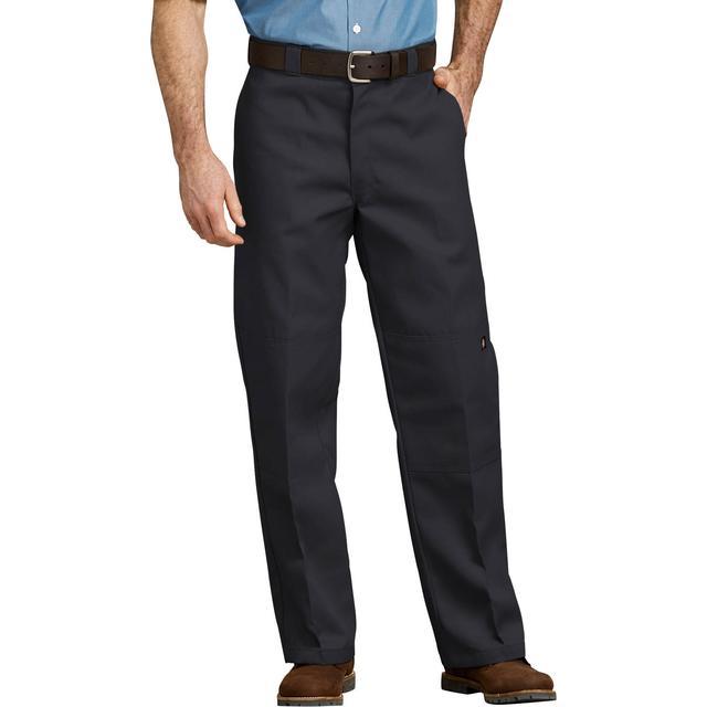 Dickies Loose Fit Double Knee Work Pants - Black