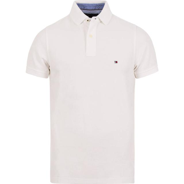 Tommy Hilfiger Slim Fit Cotton Polo Shirt - Bright White