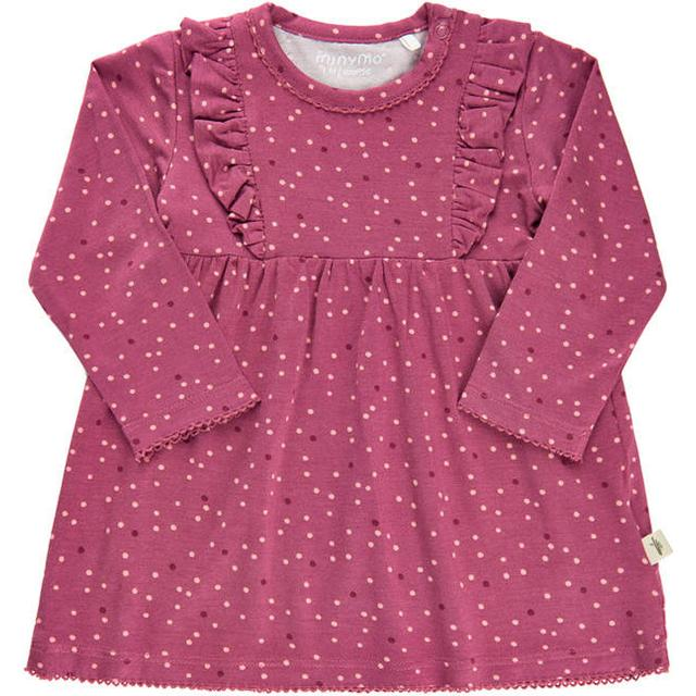 Minymo Dress - Rose Wine (111101-4849)