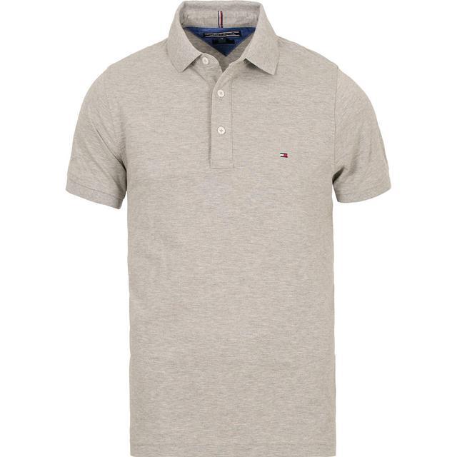 Tommy Hilfiger Slim Fit Polo Shirt - Cloud Htr