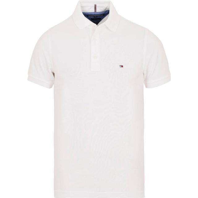 Tommy Hilfiger Slim Fit Polo Shirt - Bright White