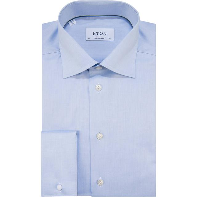 Eton Contemporary Fit French Cuff Shirt - Blue