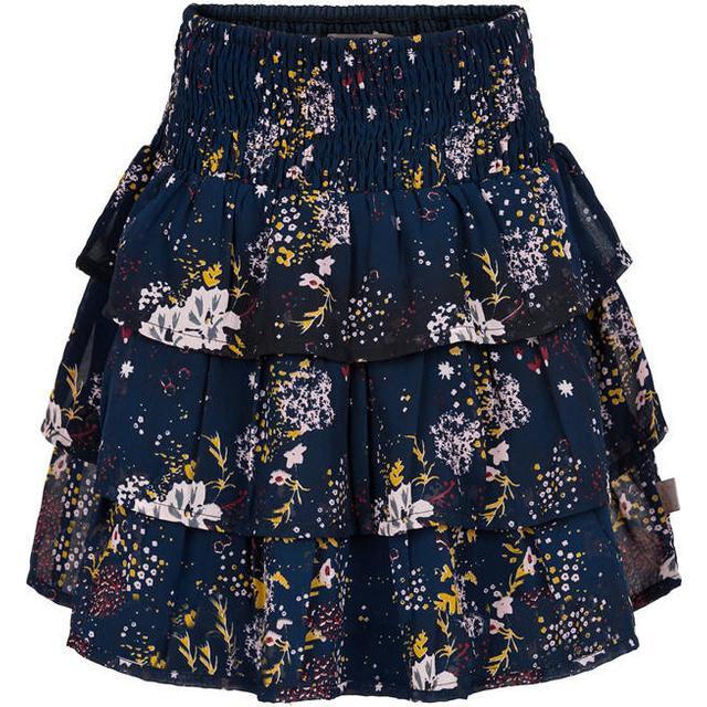 Creamie Skirt Printed Chiffon - Total Eclipse (821265-7850)