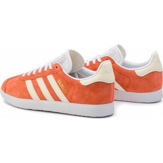 Adidas Gazelle PK W OrangeWhite Sammenlign priser hos