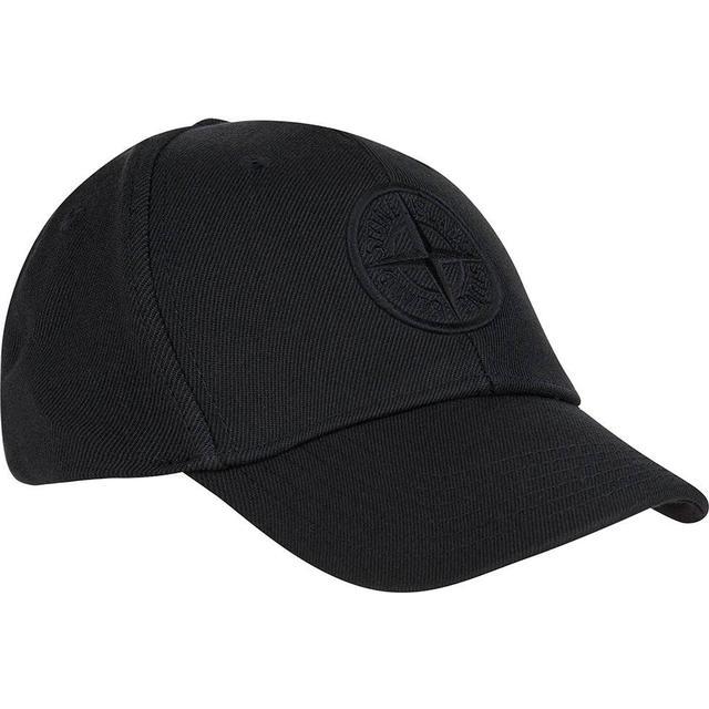 Stone Island 99175 Logo Cap - Black