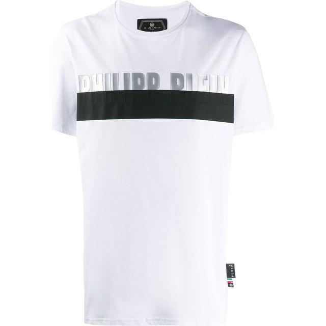 Philipp Plein Platinum Cut Round Neck T-shirt - White/Silver
