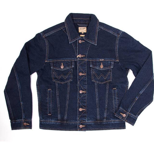 Wrangler Authentic Western Jacket - Blue Black