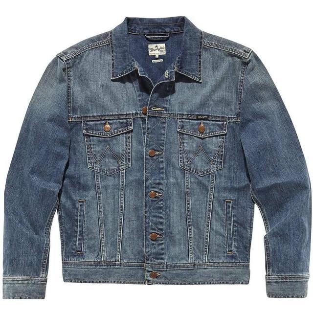Wrangler Classic Jacket - Mid Stone