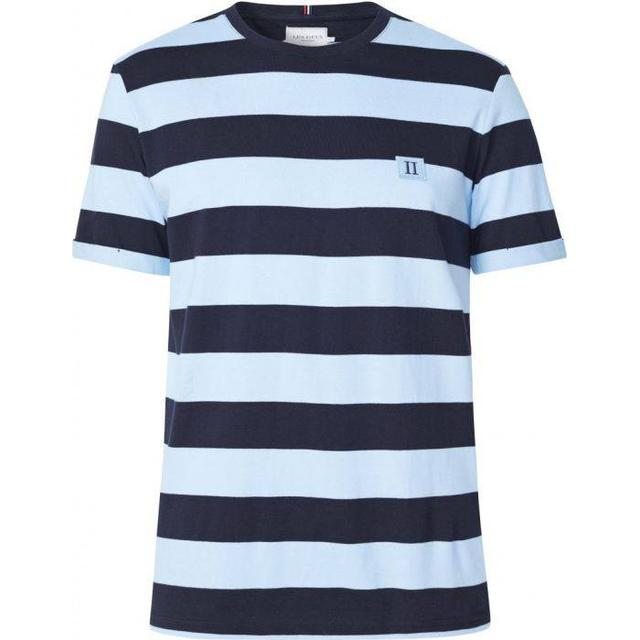 Les Deux Levoir T-shirt - Placid Blue/Navy