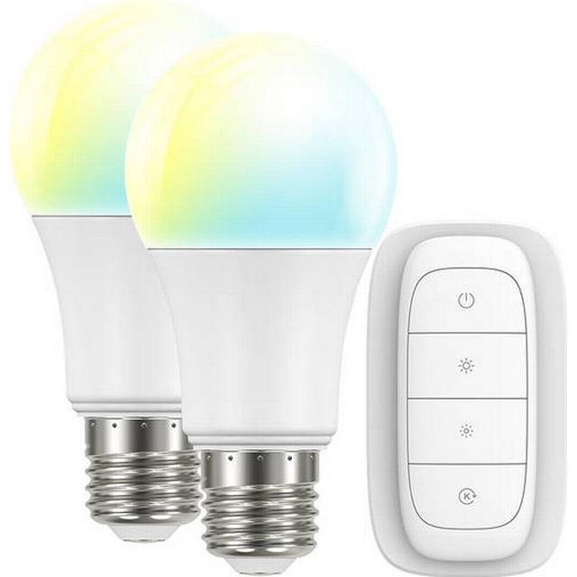 SmartLine The Warm & Cool Light Kit LED Lamps 9W E27 2-pack