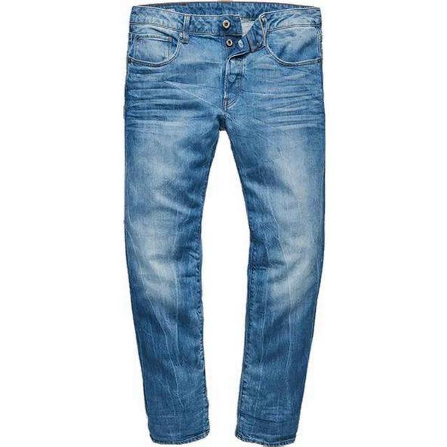 G-Star 3301 Straight Jeans - Medium Aged