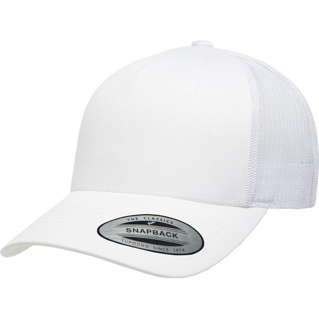 Flexfit Retro Trucker Cap - White