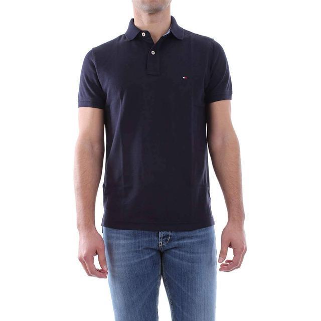 Tommy Hilfiger Slim Fit Cotton Polo Shirt - Sky Captain