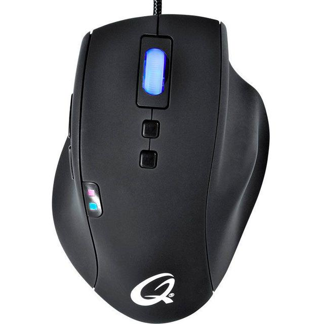 QPAD 5K Pro Gaming Laser Mouse Black