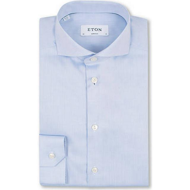Eton Twill Shirt - Blue