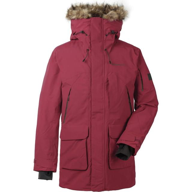 Didriksons Marcel Parka - Element Red