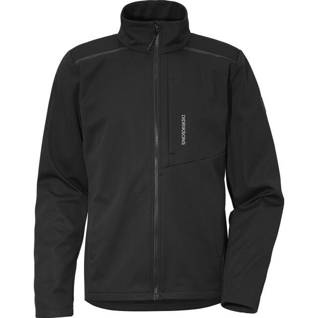 Didriksons Birk Softshell Jacket - Black