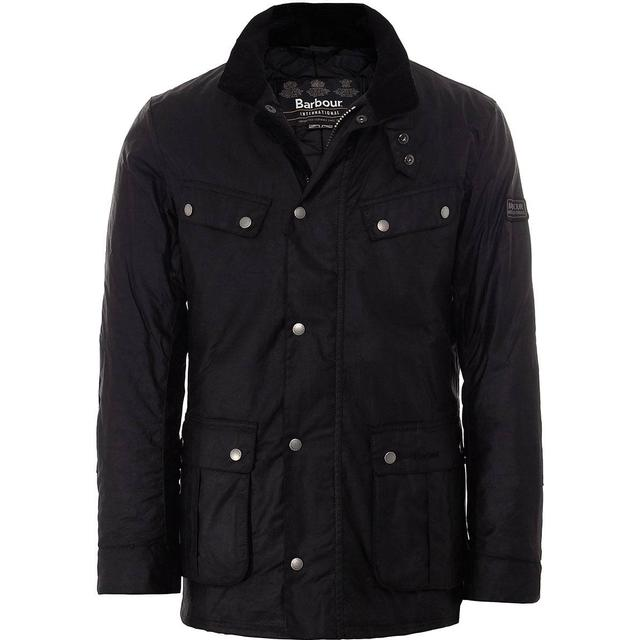 Barbour Duke Wax Jacket - Black