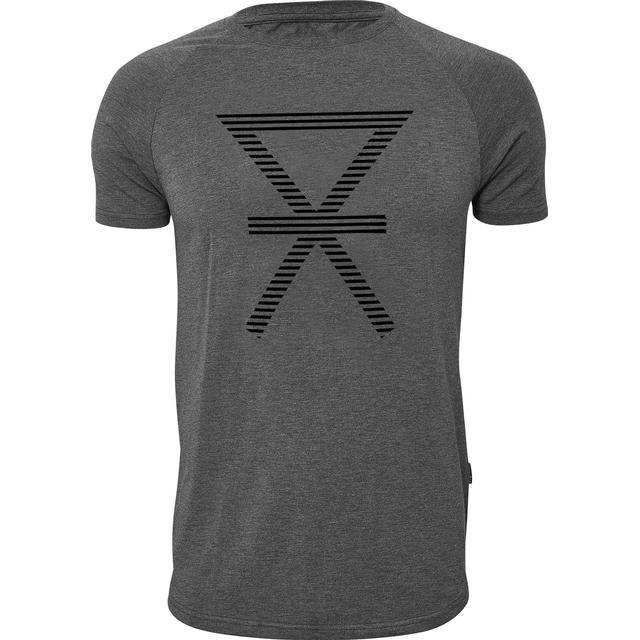 JBS Print T-shirt - Dark Grey Melange