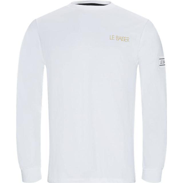 Le Baiser Bigoore Long Sleeve T-shirt - White