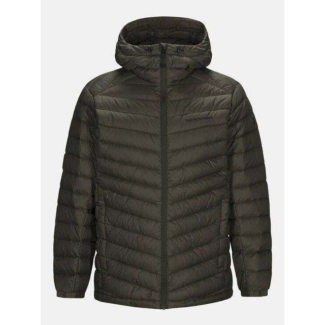Peak Performance Frost Down Hooded Jacket - Forest Night