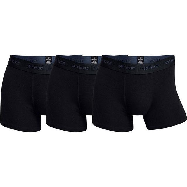 CR7 Bamboo Trunk 3-pack - Black