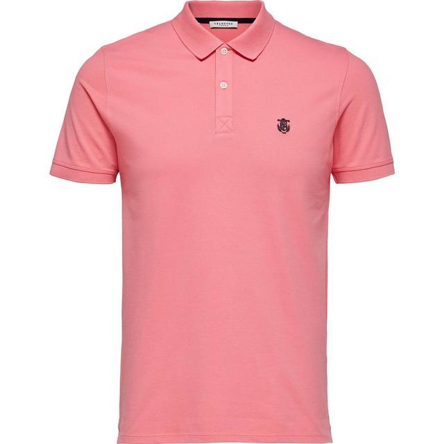 Selected Slharo Polo Shirt - Pastel/Bubblegum