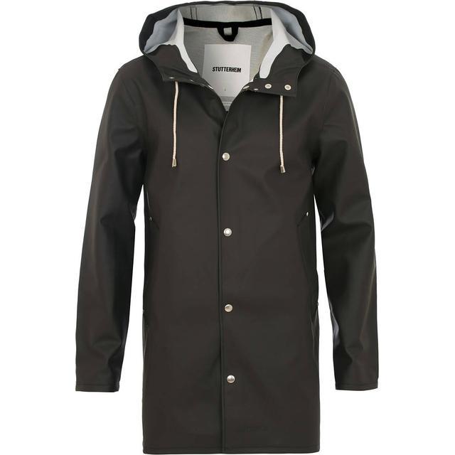 Stutterheim Stockholm Raincoat Unisex - Black