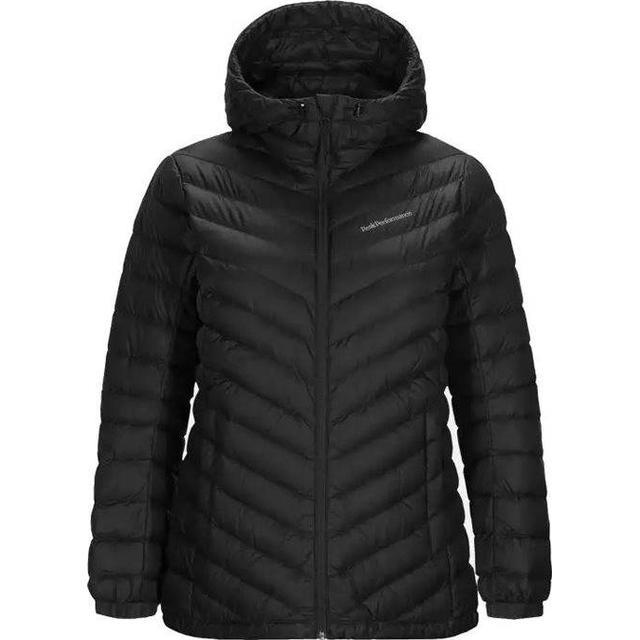 Peak Performance Frost Down Hooded Jacket - Black