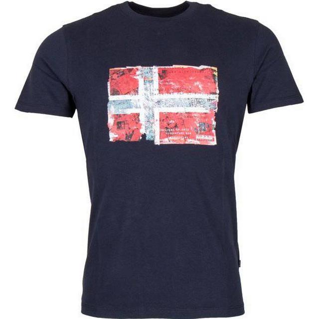 Napapijri Seitem Short Sleeve T-shirt - Navy