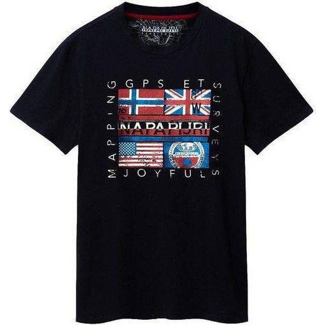Napapijri Sachu T-shirt - Blue Marine